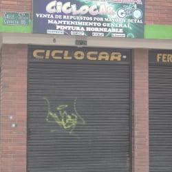 Bicicletería Ciclocar en Bogotá