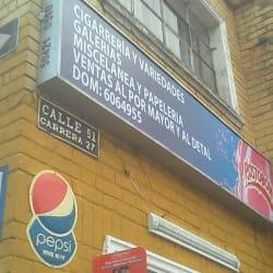 Cigarrería y Variedades Galerías en Bogotá