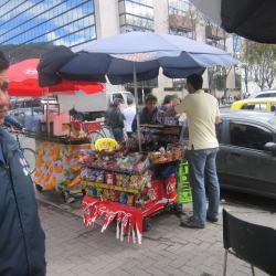 Carrito De Dulces  Calle 73 en Bogotá