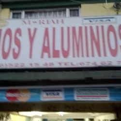 Vidrios y Aluminios Calle 167 en Bogotá