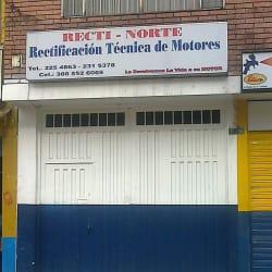 Recti Norte en Bogotá