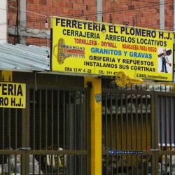 Ferretería El Plomero H.J en Bogotá