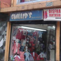 Guiller's Moda Infantil en Bogotá