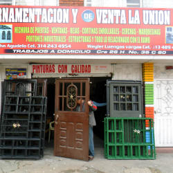 Ornamentacion y Venta la Union WJ en Bogotá