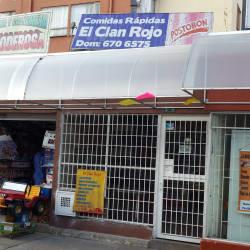Comidas Rapidas El Clan Rojo en Bogotá