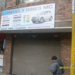 Llantas y Rines MC en Bogotá