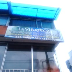 Divibaños Ventanas en Aluminio en Bogotá
