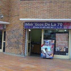Mek'ticos De La 70 en Bogotá