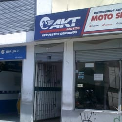 Moto Sport AKT en Bogotá