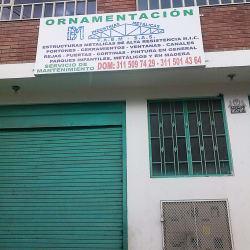 Ornamentación Industrias Metálicas F.A.B.M S.A.S en Bogotá