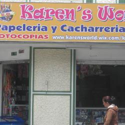 Papelería Karen's World en Bogotá