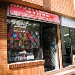 Papelería y Miscelánea 151 en Bogotá