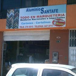 Aluminios Santafé en Bogotá