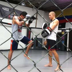 Octagon MMA en Bogotá