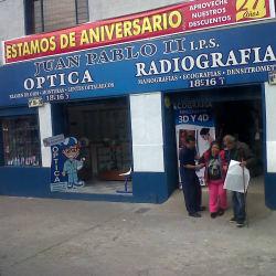 Óptica Juan Pablo II en Bogotá