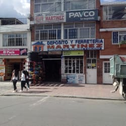 Depósito y Ferretería Martínez en Bogotá