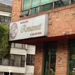 Pastelería Romannoti Calle 45 en Bogotá
