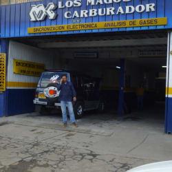 Los Magos Del Carburador en Bogotá