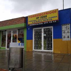 Tornieléctricos Avenida Suba en Bogotá