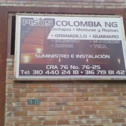 Pisos Colombia NG en Bogotá