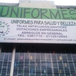 Planeta Uniformes en Bogotá