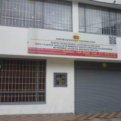 RC Importaciones y Equipos en Bogotá