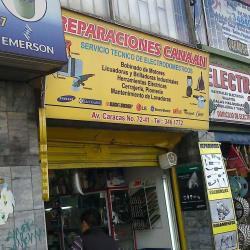 Reparaciones Canaan en Bogotá
