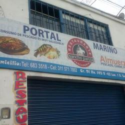 Restaurante Pescadería Sancho Panza en Bogotá