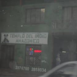 Templo del Indio Amazónico en Bogotá