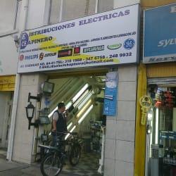 Distribuciones Eléctricas Chapinero en Bogotá