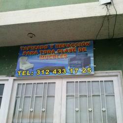 Tapizado y Refacción para Toda Clase de Muebles en Bogotá