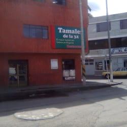 Tamales de la 32 en Bogotá