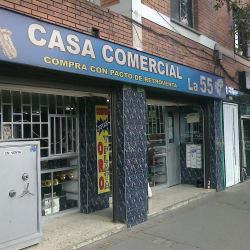 Casa Comercial La 55 en Bogotá