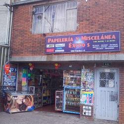 Papelería y Miscelánea Éxito's en Bogotá