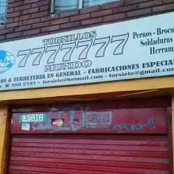 Tornillos 7777777 Mundo en Bogotá