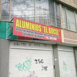 Aluminios El Bocel  en Bogotá