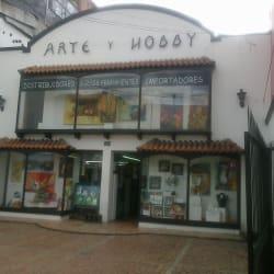 Arte y Hobby Galerías en Bogotá