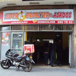 Super Broaster Americano Chapinero en Bogotá