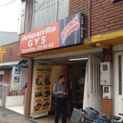 Areparrilla G y S en Bogotá