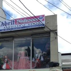 Abril Disfraces en Bogotá