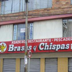 Asadero Restaurante Pescadería Brasas y Chispas en Bogotá