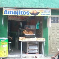 Antojitos en Bogotá