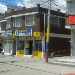 Deportes Champions en Bogotá