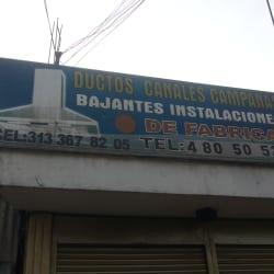Ductos Canales Campanas en Bogotá