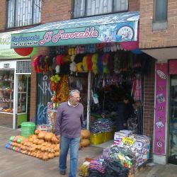 Cacharrería El Favorable en Bogotá