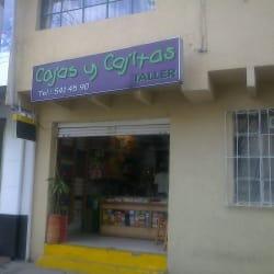 Cajas y Cajitas Taller en Bogotá