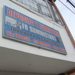 Depósito y Ferretería FB Suministros en Bogotá