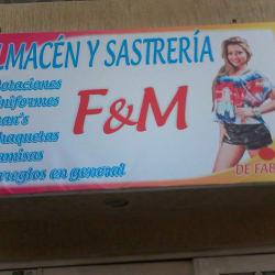 Almacén y Sastrería F & M en Bogotá