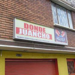 Donde Juancho Calle 128D Con 91 en Bogotá