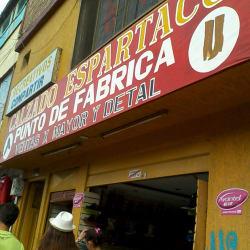 Calzado Espartaco en Bogotá